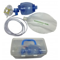"TW8321-1 Breathing bag ""MEDICA"" type ""Ambu"" PVC, set ""Pediatric"""